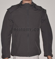 Bunda softshell BLACK