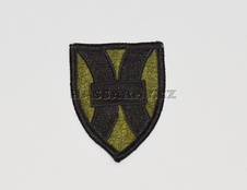 Nášivka 1st SUPPORT BRIGADE VIETNAM COLOR EMBROIDERED